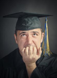 Worried College Grad